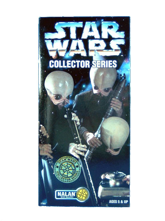 "1997 Star Wars POTF2 12"" CANTINA BAND NALAN Sealed"
